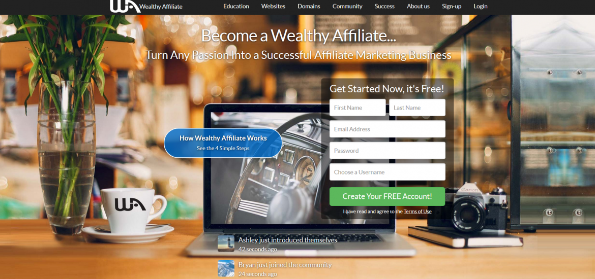 Wealthy Affiliate Plattform